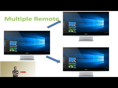 Allow Multiple Remote Desktop Session - Windows 10