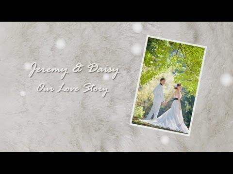 Jeremy & Daisy's Wedding Childhood Montage Video