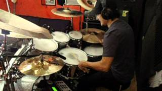 "Fleshgod Apocalypse ""The Violation"" Drum cover by Fernando Lemus"