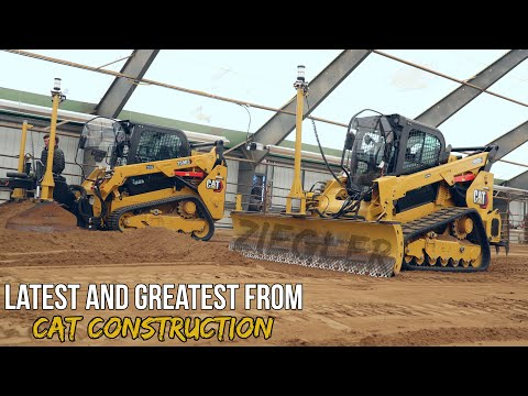 Newest CAT Landscaping Equipment | Excavators & Track Loaders