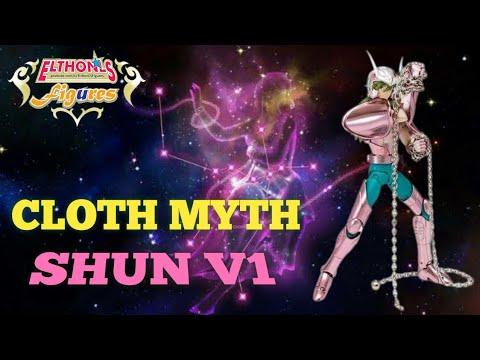 #03 CDZ Bronze - Cloth Myth Saint Seiya - Shun de Andromeda V1- Unboxing e Montagem - PT-BR