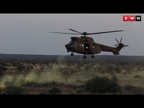 The South African Air Force blows sh*t up!