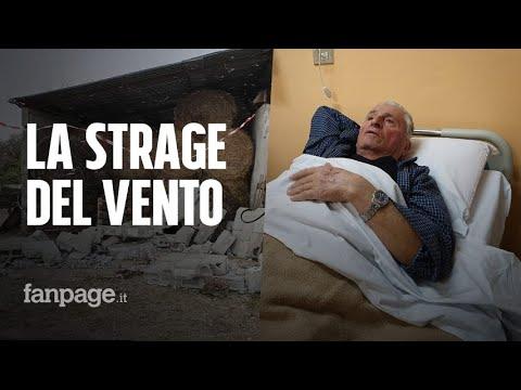"""Due Morti Ad Alvito Per Il Vento: """"Come Un'esplosione, Ho Visto La Testa Del Mio Amico Schiacciata"""""""