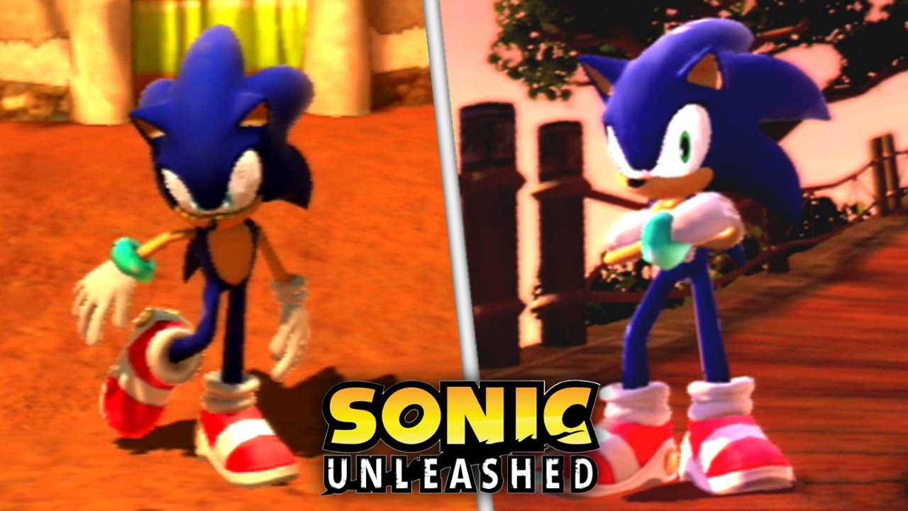 Sonic Unleashed Modern Sa1 Sonic In Savannah Citadel Mod Day Stages Youtube