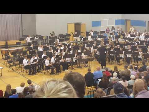Oak Creek East Middle School spring concert 2016