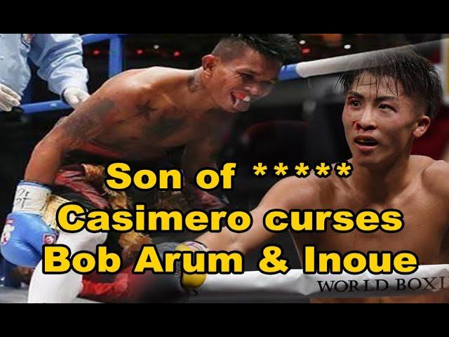 JOHN RIEL CASIMERO WINS WORLD WAR vs NAOYA INOUE and BOB ARUM