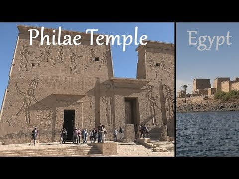 EGYPT: Philae Temple / Temple Of Isis - Aswan
