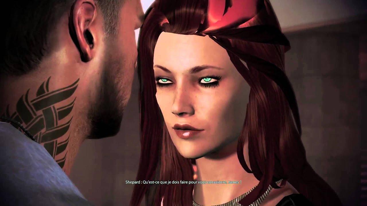 Mass Effect 3 Citadel Dlc James Vega Romance Fr
