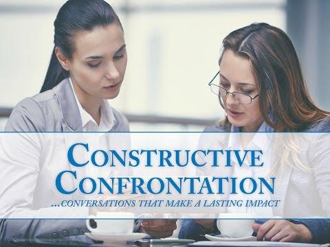 Constructive Confrontation Webinar