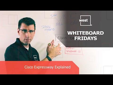 Whiteboard Fridays: Cisco Expressway Explained