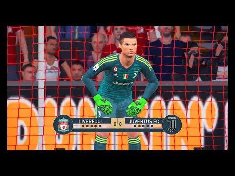 محمد صلاح ضد كريستيانو رونالدو فى حراسة المرمى | ليفربول ضد يوفنتوس | Liverpool vs Juventus