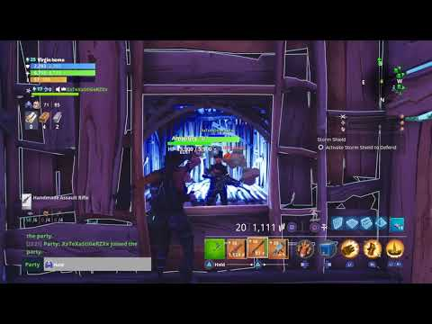 SCAMMER GETS SCAMMED *MUST WATCH* (fortnite save the world)