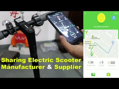 How To Start Electric Scooter Sharing Or Rent Business Like Spin, Lime And Bird Electric Scooter