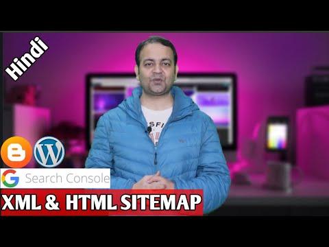 Download Google search console mein website add kare🔥Create XML & HTML sitemap🔥Submit XML sitemap