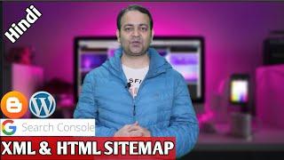 Google search console mein website add kare🔥Create XML \\u0026 HTML sitemap🔥Submit XML sitemap
