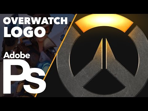 How To Create The Overwatch Logo In Adobe Photoshop