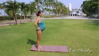 Гимнастика для беременных. Часть 4.(Весь комплекс упражнений http://www.youtube.com/playlist?list=PLN2WNUI_02EkajVMGNWVPFW_Z2LwtoTpT Гимнастика для беременных., 2013-04-01T05:37:59.000Z)