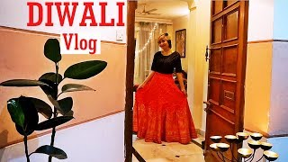 Diwali Vlog 2017 - Diwali Puja and celebrations at Home | Indian Youtuber