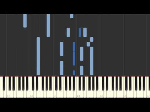 No Frontiers / The Corrs (piano tutorial + animated keyboard)