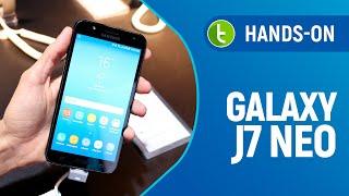 Samsung Galaxy J7 Neo: hands-on e primeiras impressões | TudoCelular.com