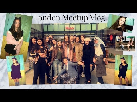 LONDON MEETUP VLOG! | India Grace