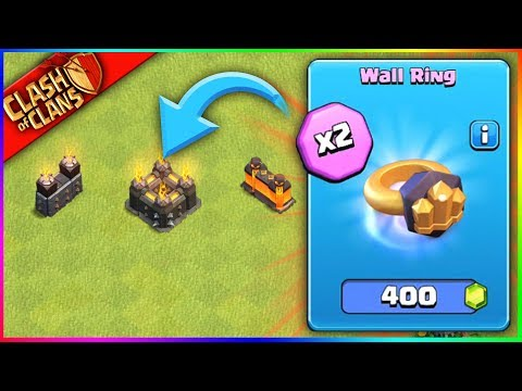 ...BUYING WALL RINGS?!? ▶️ Clash of Clans ◀️ THIS UPDATE IS CRAZY!