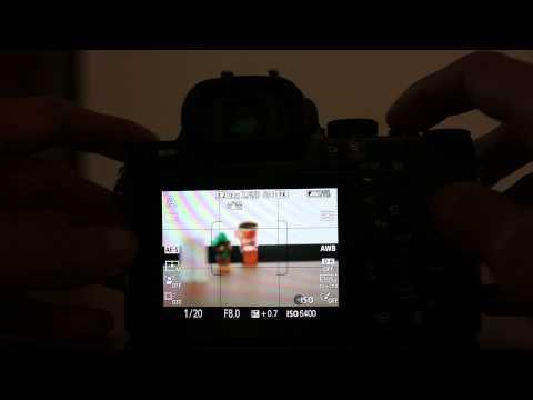 SONY A7 對焦測試_關閉光源