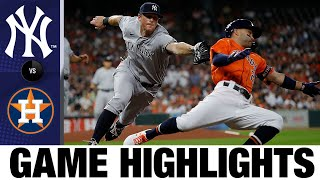 Yankees vs. Astros Game Highlights (7/9/21)