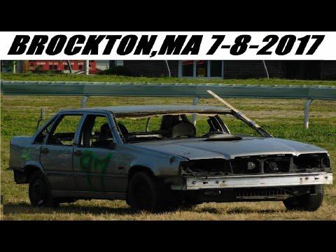 2017 Brockton,MA Demolition Derby 7-8-2017 (FULL SHOW)