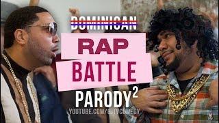 Dominican Rap Battle Parody 2 ft. EL Goldy (Spanish Skit) (8JTV)