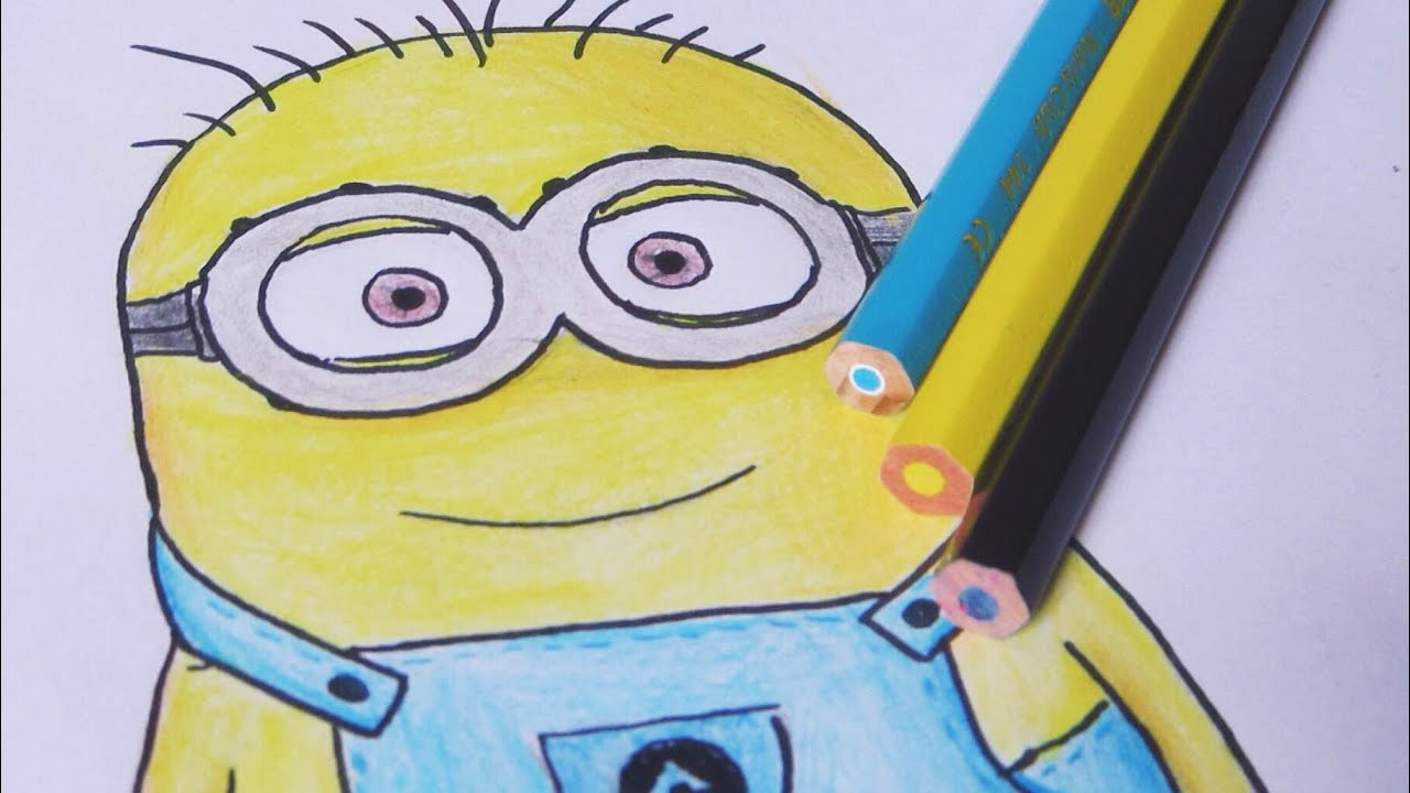Como Desenhar O Minion How To Draw A Minion Youtube