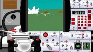 [PC DOS] M1 Tank Platoon - Gameplay