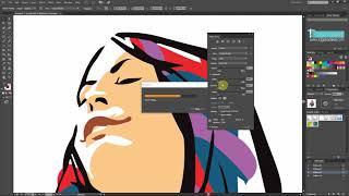 Illustrator Dersleri 36 - Image Trace Otomatik Vektor Grafikler Oluşturma