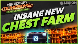 Insane New Chest Farm | Minecraft Dungeon Jungle Awakens DLC Guide