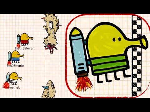 DOODLE JUMP RACE - Gameplay Part 1 (iPhone, iPad, iOS Game)