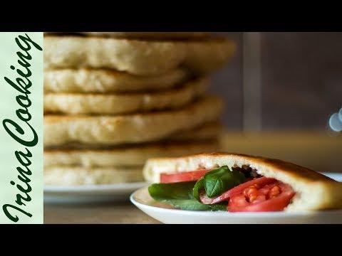 Дрожжевые лепешки на сковороде | Yeast Flat Cakes