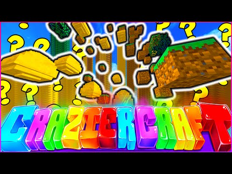 """Minecraft CRAZIER CRAFT SMP - """"CRAZY FLOATING BLOCKS"""" - Episode 73"""