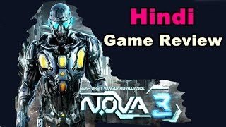 Nova : 3   Android Game Review   Gameplay in Hindi