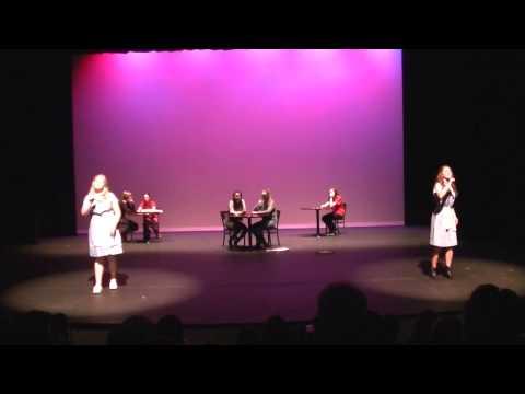 Two Broke Girls Theme Song ASL