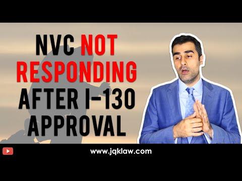 National Visa Center (NVC) Not Responding After Form I-130 Approval