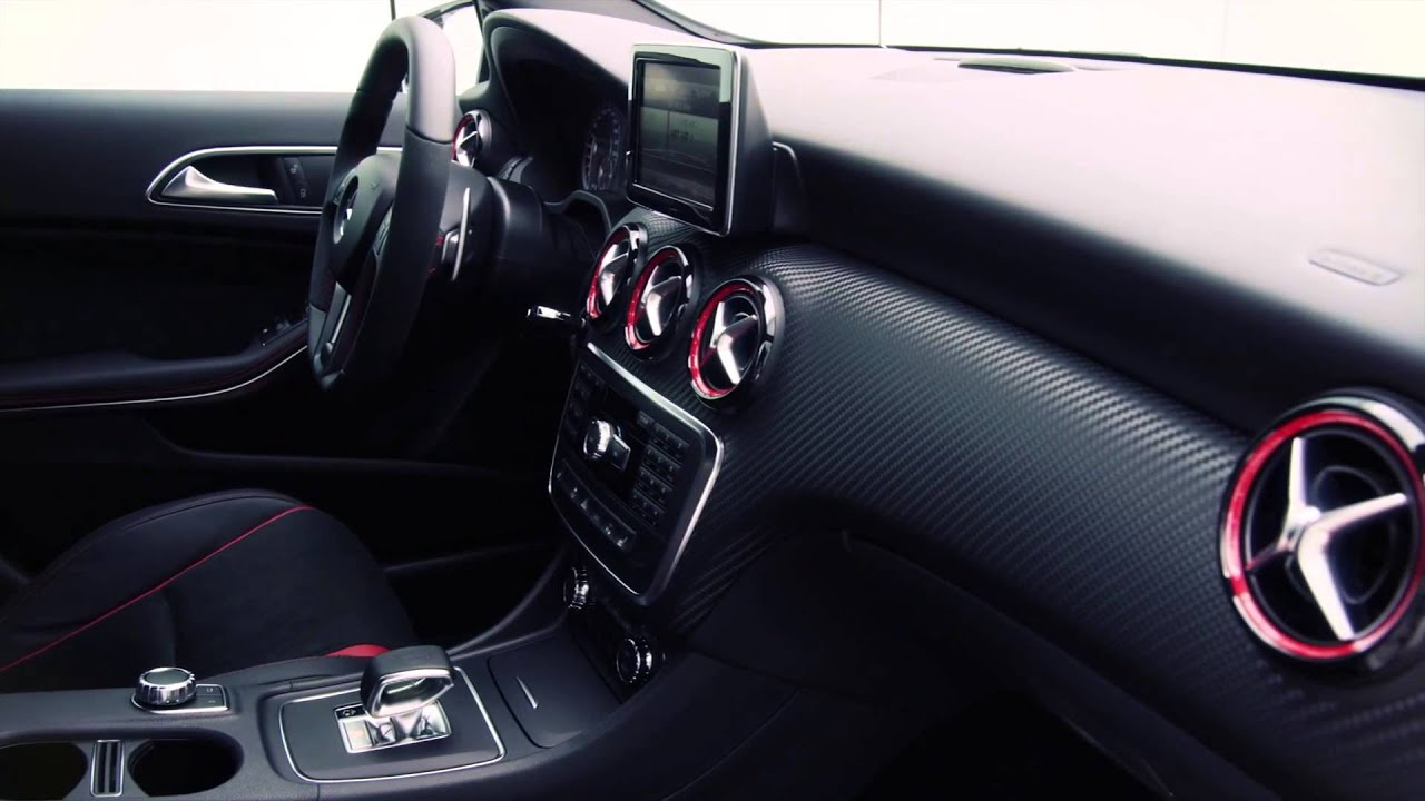 mercedes benz nuova classe a 45 amg youtube. Black Bedroom Furniture Sets. Home Design Ideas