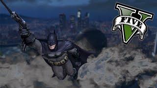 GTA V PC MODS - Batman En Los Santos - Superheroes En GTA V  - Momentos Randoms