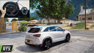 GTA 5 - 2021 Hyundai NEXO Realistic Offroading