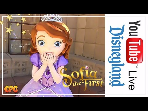 🔴 Live at Disney California Adventure 2017 | Sofia The First Meet And Greet