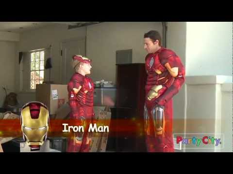 The Avengers: The Costumes Make The Men...And Boys