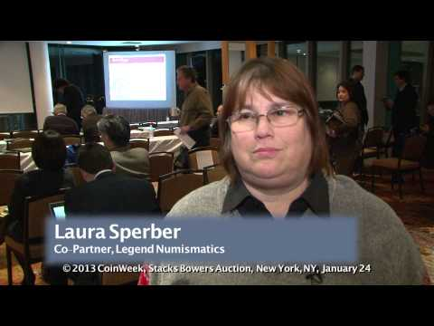 Laura Sperber of Legend Numismatics Talks about Buying the $10 Million 1794 Dollar. VIDEO: 2:03.