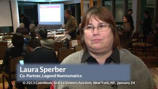 Laura Sperber of Legend Numismatics Talks about Buying the $10 Million 1794 Dollar. VIDEO: 2:03.