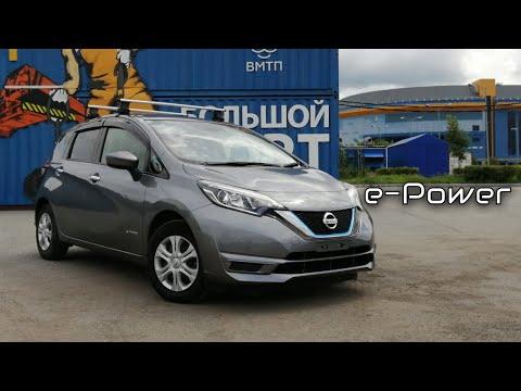 Nissan Note e-Power - Честные впечатления. Езда от первого лица. POV Drive Note e-Power