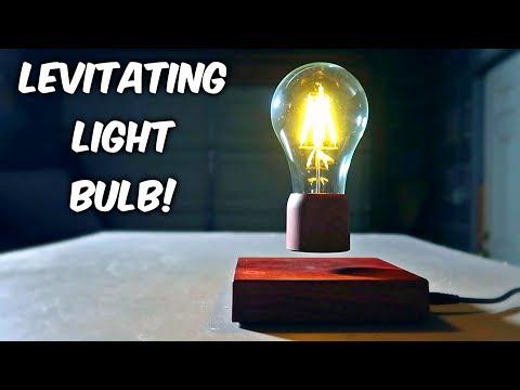 Levitating Light Bulb!