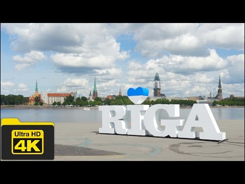 4K LATVIA, RIGA OLD TOWN TRAVEL GUIDE VIDEO, Best Places To